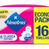 TOALLA NOSOTRAS CLASICA RAPISEC 15X16