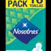 TOALLA NOSOTRAS NORMAL 15X16