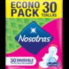 TOALLA NOSOTRAS INVISIBLE 8X30