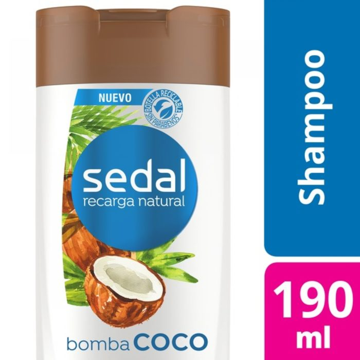 SEDAL SH BOMBA COCO 12X190ML - Acc - 7791293038278