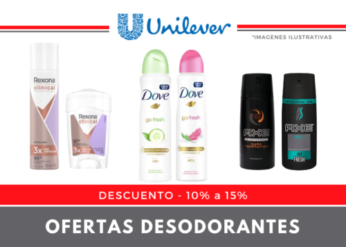 Ofertas Desodorantes